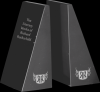 Black Marble Bookends Set Employee Awards