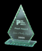Jade Diamond Point Glass Awards