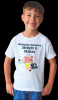 Juvenile T-shirt with custom subligraphic desing Wearables