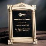 Architectural Replica Awards Acrylic Plaques