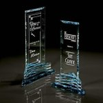 Topaz Towers Clear Glass Awards