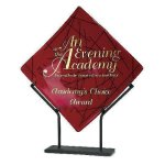 Art Glass Plate Diamond Awards