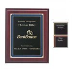 Marble-Essence Decorative Border Plaque Employee Awards