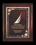 Piano Finished Rosewood Plaque Employee Awards