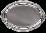 Silver Tray Medium Oval Plain Gift Awards