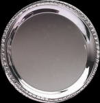 Silver Tray Round Plain Gift Awards