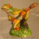 Frog on Willow Jewelry Box Gift Items