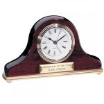 Rosewood Piano Finished Clock Mantle Clocks