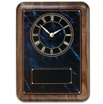 Wall Clock Plaque - Verdi Marble Awards