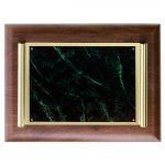 Brass Scroll Plaque - Lapis Marble Awards