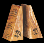 Tan Marble Bookends Set Marble Awards