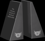 Black Marble Bookends Set Marble Awards