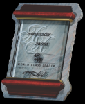 Slate and Glass Plaque Marble Awards