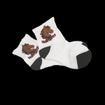 Juvenile Short Sock with custom subligraphic design Other Imprintables
