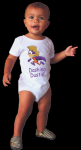 Infant Onesie with custom subligraphic design Other Imprintables