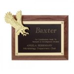 Gold Eagle Plaque Patriotic Awards