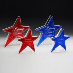 Ruby and Sapphire Star Patriotic Awards