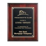 Rosewood Piano Finish Plaque Piano Finish Plaques
