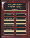 Rosewood Piano Finish Corporate Plaque Piano Finish Plaques