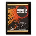 Channel Plaque Piano Finish Plaques