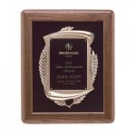 American Walnut Frame Award Recognition Plaques