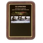 Teamwork Award Recognition Plaques