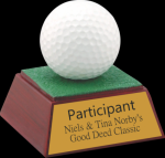 Golf Ball Resin Resin Awards