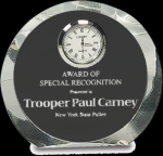 Crystal Round Clock Sales Awards