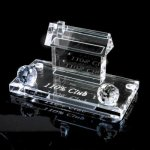 Desk Accents - Business Card Holder Secretary Gift Awards