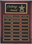 Rosewood Piano Finish Corporate Plaque Square Rectangle Awards
