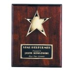 Star Plaque Star Plaques