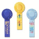 Fun Rosette Award Ribbon Victory Trophy Awards