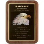Leadership Award Walnut Plaques