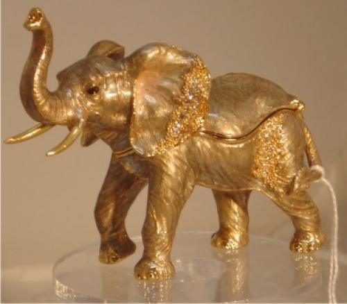 Elephant Jewelry Box Gift Items